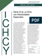 Guia de Cuidados de Un Nino Con Necesidades Especiales