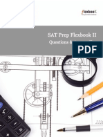 SAT Prep FlexBook II (Questions and Answer Key
