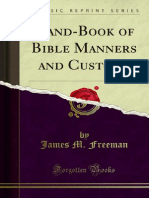 Hand-Book of Bible Manners and Customs 1000004803