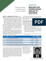 Bracing for Nonbuildings Similar to Buildings MSC Oct 2013