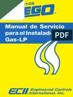 Manual de Servicio Para Gas