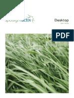 Actix Spotlight Desktop User Guide Aug 2010