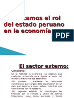 Conozcamos El Rol Del Estado Peruano en La