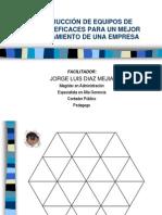 CONSTRUCCIÓN DE EQUIPOS EFICACES