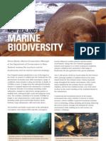 Aug 2009 - New Zealand's marine biodiversity
