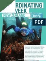 Aug 2009 - Co-ordinating Seaweek New Zealand