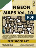 Dungeon Maps Vol #10