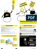 Winter 2013 Activism Guide