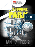 Clybourne (Edited Playbill ) Jan 9