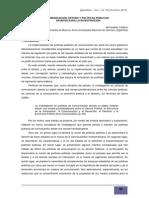 Bernadette Califano - Comunicación, Estado y Políticas Públicas