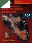 Interpretation of Three D Siesmic DATA