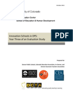 Innovation Schools in DPS