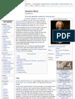 Johann Sebastian Bach - Wikipédia, a enciclopédia livre