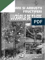 Lucrarile de Taiere La Pomii Si Arbusti Fructiferi