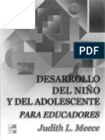 4. Desarrollo del niño y del adolescente