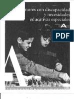 5. Menores Con Discapacidad y Necesidades Educativas Especiales