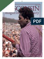 Wisconsin Magazine Of History, Spring 2010