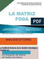 La Matriz Foda 2010