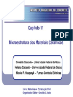Microestrutura dos materiais cerâmicos