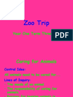 Zoo Trip Slide Show