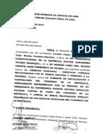 habeas corpus del tercer juzgado penal contra comisión