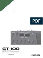 GT-100 Preset Patch List