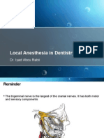 Local Anesthesia Techniques