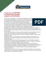 com 0520, 201205 Acuerda Eugenio Hernández Flores y la federación en rescatar Laguna La Escondida.