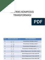 MATRIKS KOMPOSISI TRANSFORMASI