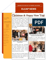 ELCAP E-Newsletter Issue 26 - Jan 2014