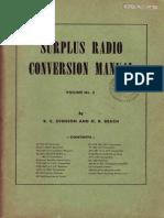 Surplus Radio Conversion Manual Vol2