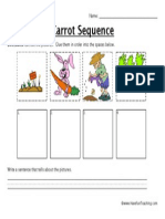 Carrot Sequence Worksheet