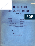 Surplus Radio Conversion Manual Vol3
