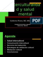 Interculturalidad y salud mental