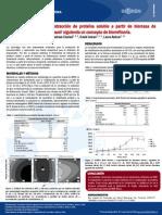 Poster, Producción de biogás y extracción de proteína soluble 3