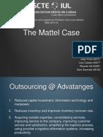 Presentation Mattel Supply Chain Management