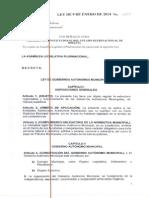 Ley 482 de Gobiernos Autónomos Municipales