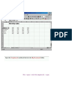 ICDL The Excel Exam