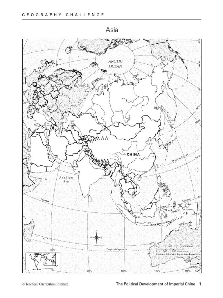 imperial china student notebook international politics china Ancient China Geography