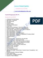 Catálogo (Programação AVE TV - AVE TV DOIS)