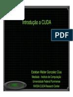 CursoCUDA CSBC2012 Introducao Manha