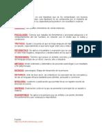 Glosario Prof. Luis Felipe Cota
