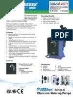 Pulsatron Series C Metering Pump Datasheet