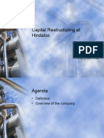 Capital Restructuring at Hindalco