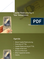 Capital Restructuring at Tata Teleservices
