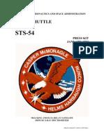 NASA Space Shuttle STS-54 Press Kit