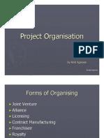 Project Organising