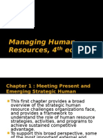 Managing Human Resources, 4th Edition Chapters 1 -17