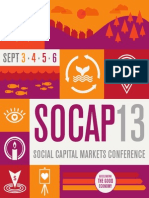 SOCAP13 Program Book