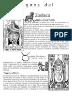 Los Signos Del Zodiaco, Los Planetas y Atribuciones